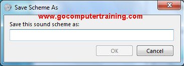 Windows 7 save scheme as dialog box
