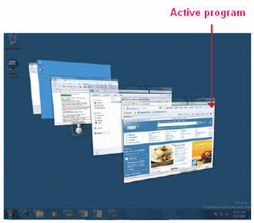 Windows 7 flip 3D