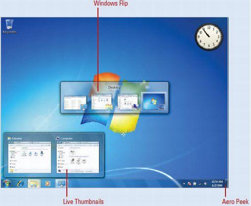 Windows 7 flip