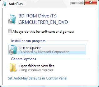 Windows 7 autoplay