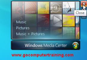 Windows 7 close gadget
