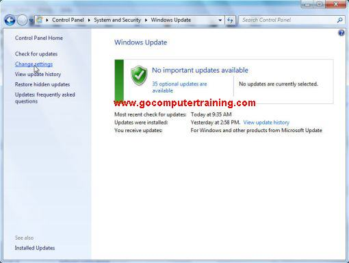 Windows 7 windows update